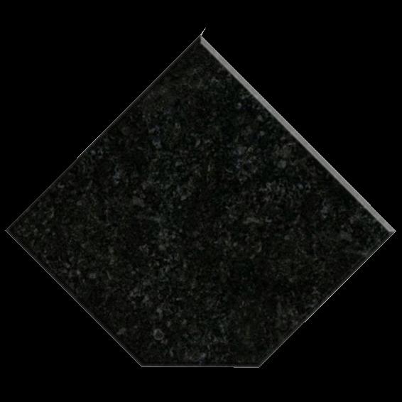 Fine black granite