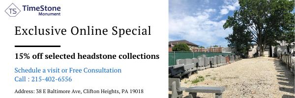 Timestone Headstone Discount